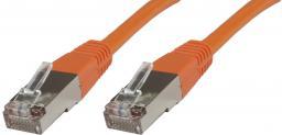 MicroConnect RJ-45/RJ-45 kat.5e F/UTP Pomarańczowy 15m (B-FTP515O)