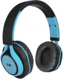 Słuchawki ART BT nauszne z mikrofonem niebieskie (ZISL OI-E1B)