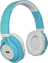 Słuchawki ART BT nauszne z mikrofonem turkusowe (ZISL OI-E1C)