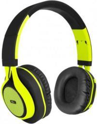 Słuchawki ART BT nauszne z mikrofonem limonkowe (ZISL OI-E1G)