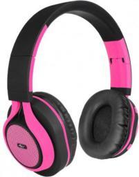 Słuchawki ART BT nauszne z mikrofonem różowe (ZISL OI-E1P)