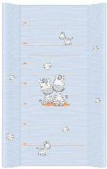 Ceba Przewijak długi 50x80cm, Zebra niebieska (000823)