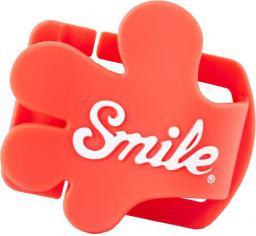 Smile klips do mocowania osłony obiektywu, Giveme5, czerwony (16400)