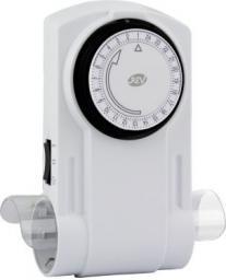 REV Mecanical Timer 2-fold white (0025600103)