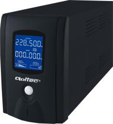 UPS Qoltec Zasilacz awaryjny 600W LCD (53913)
