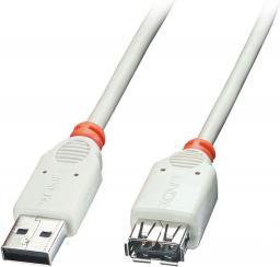 Kabel USB LINDY Przedłużacz USB-A - USB-A (M/F) 5m (41765)