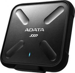 Dysk zewnętrzny ADATA SSD 256 GB Czarny (ASD700-256GU3-CBK)