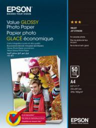 Epson Value Glossy Photo Paper A4  (C13S400036)