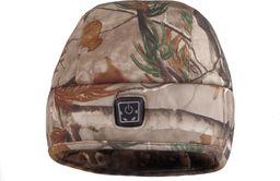 Glovii Ogrzewana czapka, Uniwersalna, kamuflaż (GC1C)