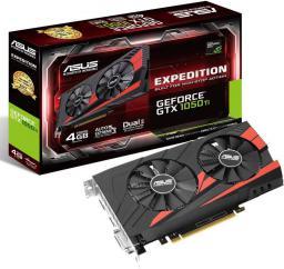 Karta graficzna Asus GeForce GTX 1050 Ti Expedition 4GB GDDR5 (128 Bit) HDMI, DVI-D, DP, BOX (EX-GTX1050TI-O4G)