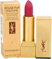 YVES SAINT LAURENT Rouge Pur Couture Pure Colour Satiny Radiance szminka do ust #07 Le Fuchsia  3.8ml