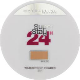 Maybelline  Super Stay 24 Longwear Matte Powder Waterproof puder matujący 21 Nude 9g