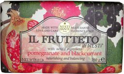 Nesti Dante Il Frutteto Pomegranate And Blackcurrant mydło toaletowe 250g