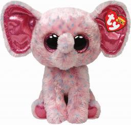TY Beanie Boos Ellie Różowy Słonik 24 cm (219464)