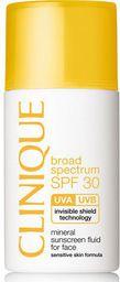 Clinique Sun Mineral Sunscreen Fluid For Face SPF30 emulsja do opalania twarzy 30ml