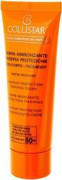 Collistar Crema Autoabbronzante Massima Protezione krem do opalania maksymalna ochrona SPF+50 100ml