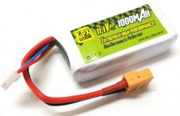 GPX Extreme 1000mAh 11.1V 45C (GPX/GE-45C-1000-3S1P)