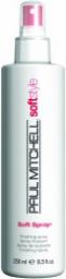 PAUL MITCHELL Soft Style Soft Spray lekko utrwalający spray do włosów 250ml