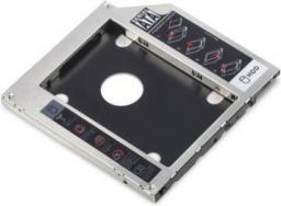 Digitus Rama montażowa SSD/HDD dla napędu CD/DVD/Blu-ray, wysokość 9.5mm (DA-71108)