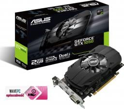 Karta graficzna Asus GTX 1050 2GB GDDR5 (128 Bit) DVI, HDMI, DP, BOX (PH-GTX1050-2G)