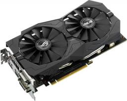 Karta graficzna Asus GeForce GTX1050 Ti Strix 4GB GDDR5 (128 Bit) HDMI, 2x DVI, DP, BOX (STRIX-GTX1050TI-4G-GAMING)