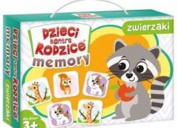 Kangur Dzieci kontra rodzice. Memory Zwierzaki (223210)