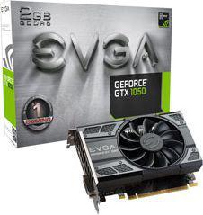 Karta graficzna EVGA GeForce GTX 1050 Gaming 2GB GDDR5 (128 Bit) HDMI, DVI-D, DP, BOX (02G-P4-6150-KR)