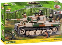 Cobi Armia Tiger PzKpfw VI Ausf. E - Czołg niemiecki (2487)