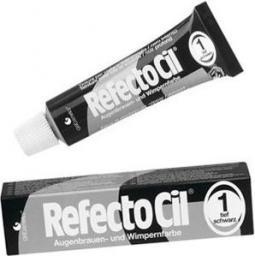 RefectoCil  Eyelash And Eyebrow Tint henna do brwi i rzęs 1 Pure Black 15ml