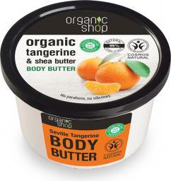 Organic Shop Organic Tangerine & Shea Butter Body Butter masło do ciała o zapachu mandarynek i masła shea 250ml