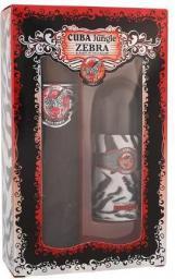 Cuba Jungle Zebra Zestaw dla kobiet  EDP 100ml + 50ml Deodorant