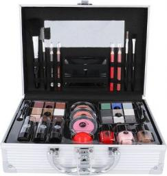 2K All About Beauty Train Case Zestaw kosmetyków Complete Makeup Palette 60,2g