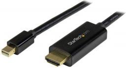 Kabel StarTech DisplayPort Mini HDMI, 3, Czarny (MDP2HDMM3MB)