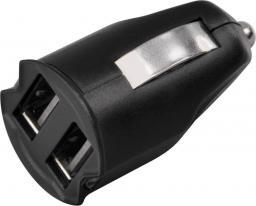 Ładowarka Hama 2x USB, 2.1A, czarna (121961)