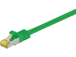MicroConnect S/FTP CAT7 1m Green LSZH - SFTP701G