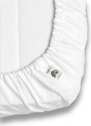 Nanaf Organic DO SPANIA I KĄPANIA, Prześcieradło do Łóżeczka 120x60 cm, białe (NA-022120x60)