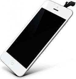 Giga Fixxoo Wyświetlacz iPhone 5S, Biały (14732)