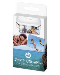 HP papier fotograficzny z podkładem klejącym, 5x7.6, 20 sztuk  (W4Z13A)
