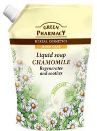Green Pharmacy Mydło w płynie-zapas Rumianek