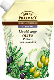 Green Pharmacy Mydło w płynie-zapas Oliwka  1szt