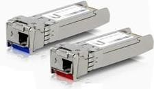 Moduł SFP Ubiquiti Moduł nadawczo-odbiorczy, U-Fiber, Single-Mode, 10G, BiDi, SFP+, LC, 2 sztuki (UF-SM-10G-S)