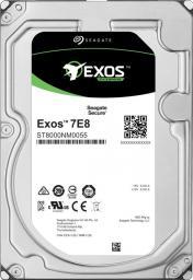 Dysk serwerowy Seagate Dysk Seagate Exos 7E8 HDD, 3.5'', 6TB, SATA/600, 7200RPM, 256MB cache (ST6000NM0235)