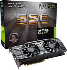 Karta graficzna EVGA GeForce GTX 1060 SSC Gaming ACX 3.0 6GB GDDR5 (06G-P4-6267-KR)