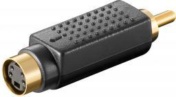 Adapter AV MicroConnect Mini DIN 4pin/RCA (ADA4FM)