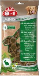 8in1 Przysmak 8in1 Minis rabbit and herbs 100 g