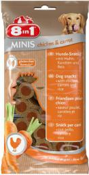 8in1 Przysmak 8in1 Minis chicken and carrot 100 g