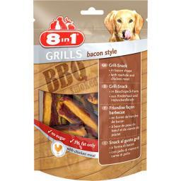 8in1 Przysmak Grills Bacon Style  - 80g