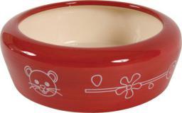 Zolux Miska ceramiczna dla gryzonia 350 ml - czerwony