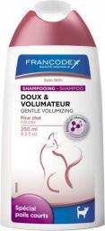 FRANCODEX Szampon łagodny zwiększający objętość, dla kotów 250 ml
