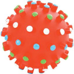 Zolux Zabawka winylowa Piłka z wypustkami 10 cm